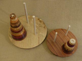 Tour de Hanoï, modèles à 9 et 15 étages